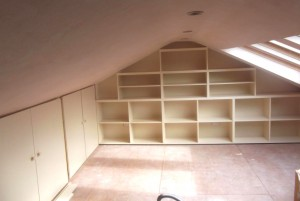 bespoke wooden bookcases
