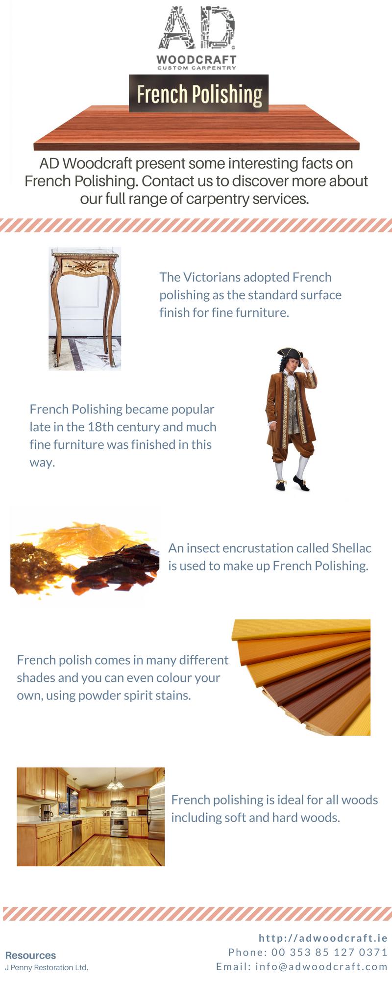french polishing