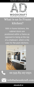 In Frame Kitchen Infographic