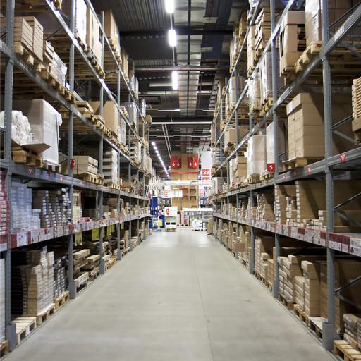 IKEA warehouse image by Tomas Skopal (via Shutterstock).