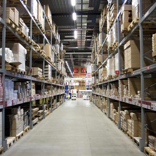 IKEA warehouse image by Tomas Skopal (via Shutterstock).