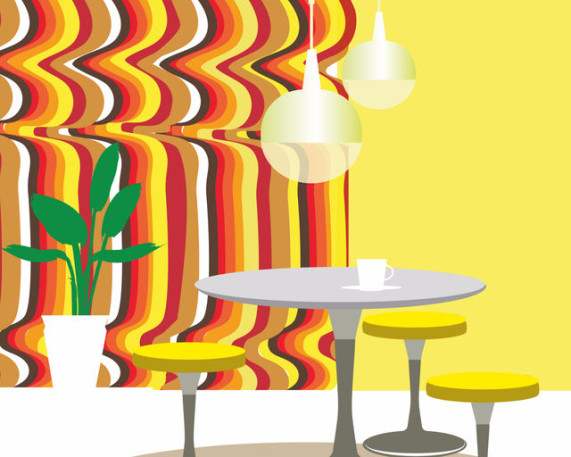 Interior design nightmare image by Viktoria Bykova (via Shutterstock).