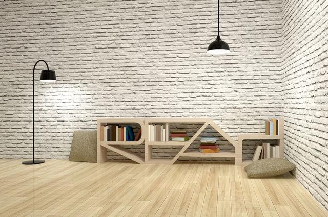 Unusual bookcase design ideas image by BsWei (via Shutterstock).