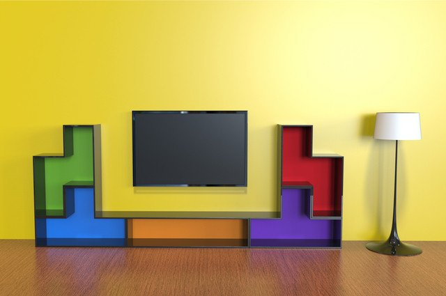 Tetris entertainment units