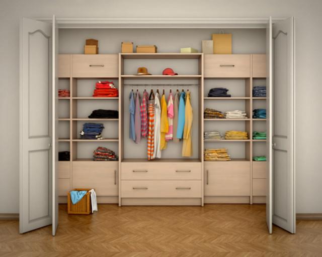 Walk-in Wardrobes image by Vipman (via Shutterstock).