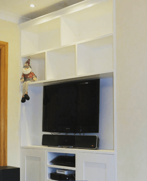 Bespoke Alcove TV cabinets